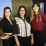 Silvia Camargo, Rachel Santiago e Georgette Faro