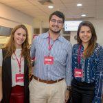Barbara Fonseca, Eduardo Moraes e Mariana Gottschalk