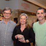 César Coelho, Batriz Perlingeiro e Rodrigo Pedrosa