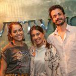 Camila Melo, Carol Burgo e Igor Tedesco