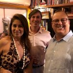 Cristina Lips, Gabriel Castro e Eduardo Chalita