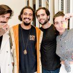 Cristofer Braga, Felipe Queiroz, Matheus Antonio e Mariana Falcão