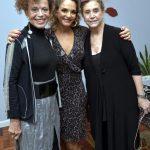 Marialice Celidônio, Cristina Midosi e Madeleine Saade