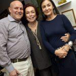 Paulo e Marize Muller e Lygia Durand