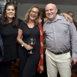 Bia Borges, Sonia Tomé e Paulo Muller