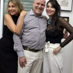 Marcia, Paulo e Antônia Muller