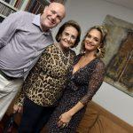 Paulo Muller, Lucinha Araújo e Cristina Midosi