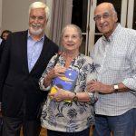 Edmar Pacha e Mary e Zuenir Ventura