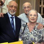 Domício Proença Filho, Mary e Zuenir Ventura