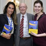 Sabrina Nunes, José Murilo de Carvalho e Renata Rodrigues