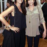 Joana Oakim e sua mãe Cinthia Figueira de Mello