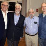 Edmar Pachá, Sérgio Henrique Abranches, Albert Fishlow e Shepard Forman