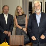 Pedro Malan, Maristela Pereira e Edmar Pacha