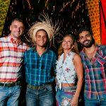 Eduardo Borghetti, Jackson Kairon, Paula Bergamin e Felipe Feitosa