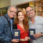 Flávio Marinho, Clara Santhana e Christovam de Chevalier