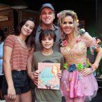 Guilherme Fontes (filhos), Carolina e Carlos Fontes e Leona Cavalli