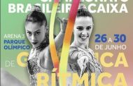 Campeonato Brasileiro CAIXA de Ginástica Rítmica acontece até domingo no Rio