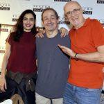 Letícia Sabatella, Daniel Dantas e Marcos Caruso