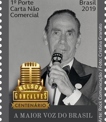 Selo oficial do centenário de nascimento de Nelson Gonçalves é lançado no Rio