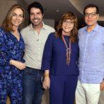 Patricia Kogut, Alex Lerner, Glória Perez e Ali Kamel