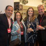 Rodrigo Aquim, Eva Hirsch Pontes, Andreia Repsold e Thomaz Naves