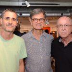 Rodrigo Pedrosa, César Coelho e Evandro Carneiro