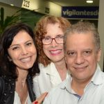 Simone Soares, Elza Pontes e Mário Meirelles