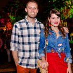 Thiago Alves e Paloma Danemberg