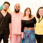 Yhuri Cruz, Ademar Brito, Ludimila de Oliveira e Erika Nascimento