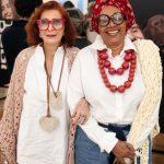 Anamaria Montesano e Cida Gusmão