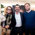 Andrea Natal, Rodrigo Lovatti e Cassiano Vitorino