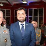 Comandante Roberto Robadey e Cláudio Castro