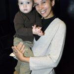 Débora Lewiner e seu filho Dov