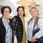 Einice Gutman, Susana Fuentes e Helena Souto Oliveira
