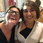 Fafa Figueiroa e Maria Manuela Correia