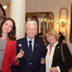 Florence Pow, Alain Raisson e Marie Godefroy