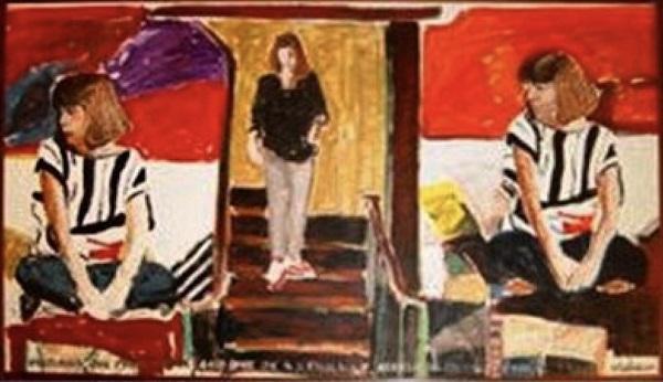 retrato de vanda klabin, john nicholson, 1984