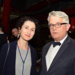 Jaqueline Saad e Philippe Orliange