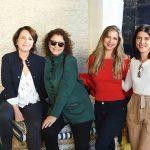 Laura Bezamat, Cristina Alho Aline Araujo e Cristina Bezamat