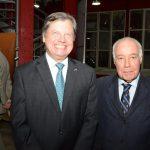 Luís Fernando Serra e Reinaldo Paes Barreto