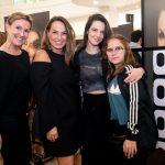 Lucia do Passo, Marina Caruso, Marina Cabral e Maria Eduarda Macedo