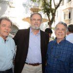 Luiz Paulo Sampaio, Rodolfo Rocha Miranda e Octavio Sampaio