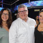 Marcia Dornelles, Celso Teixeira e Carol Raggi