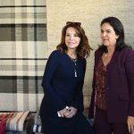 Patrícia Mayer e Joy Garrido