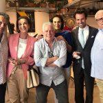 Paulo Reis, Teresa Drummond, Chicô, Rosaria Carvalho, Ruy Gomes da Silva e Aristoteles Drummond