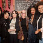 Teresa Cristina, Olivia Hime, Doris Monteiro, Olivia Byington, Xenia Franca e Nilze Carvalho