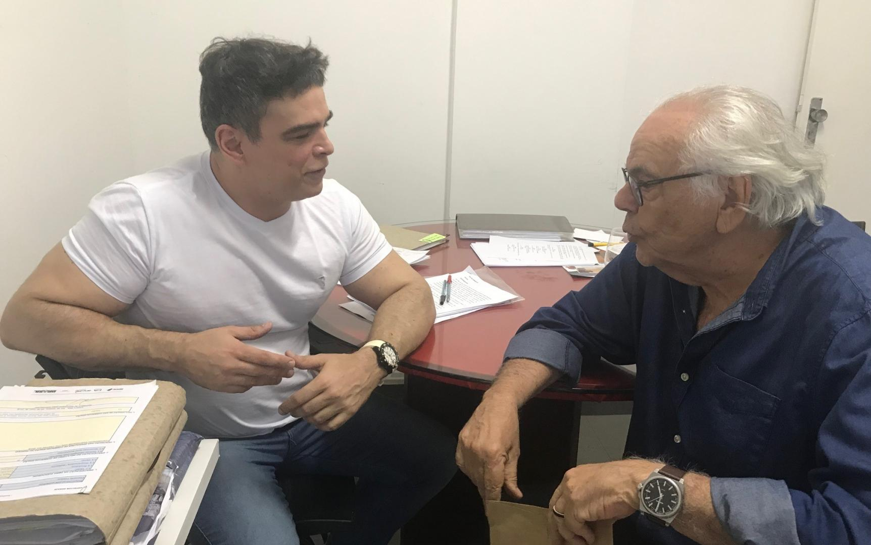 Zelito Viana e Marcelo Caetano