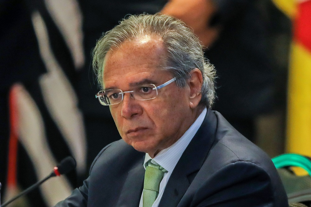 Paulo Guedes em almoço no Rio