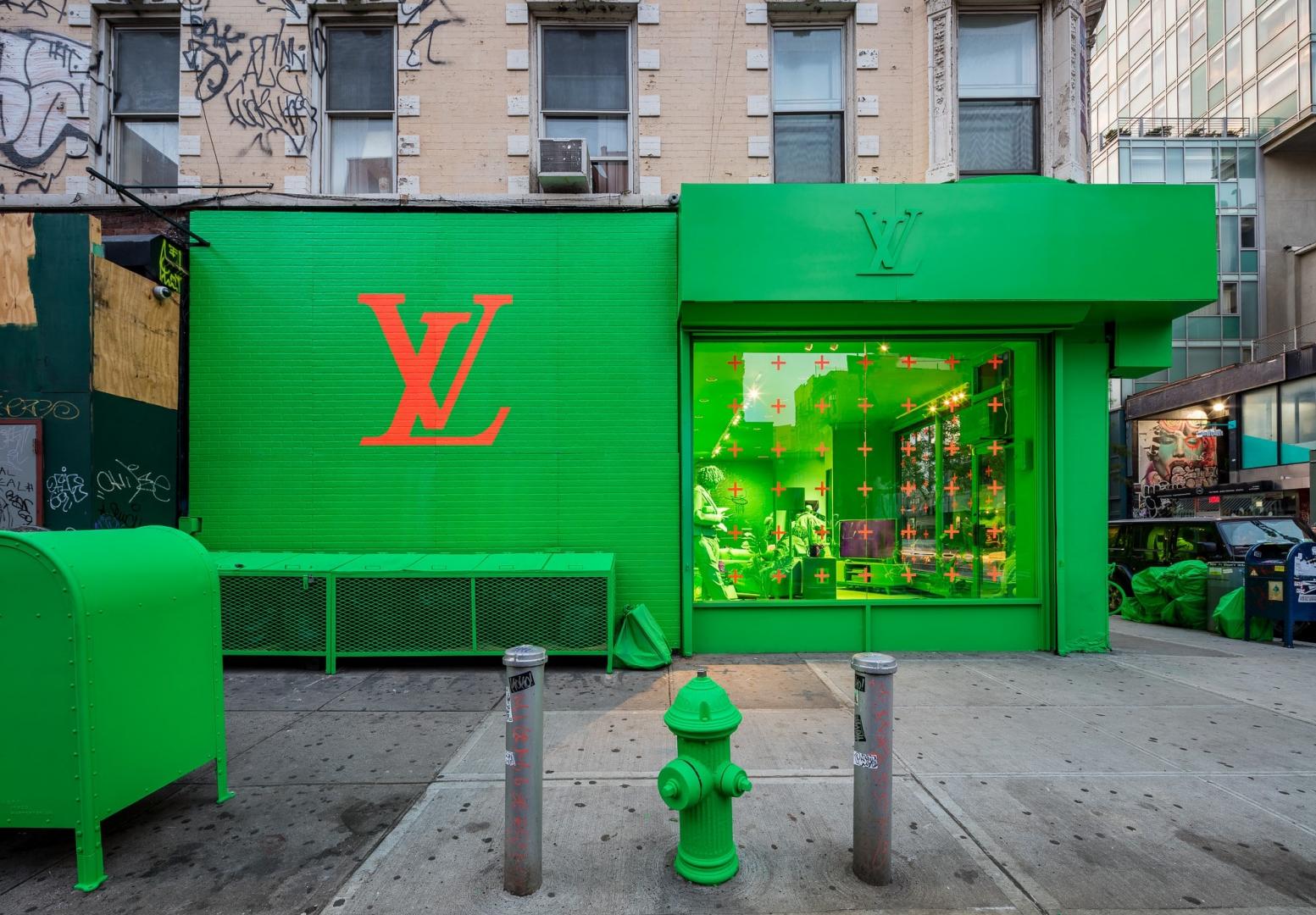 Louis Vuitton verde