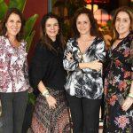 Andrea Neves Duarte, Ilka Tostes, Patricia Quentel e Anna Malta